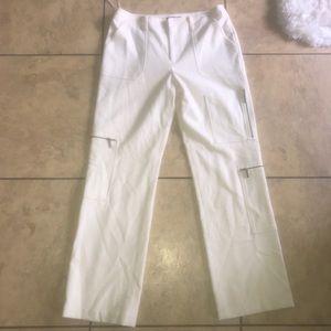 Nwt Ralph Lauren peak cream wool cargo pants sz10